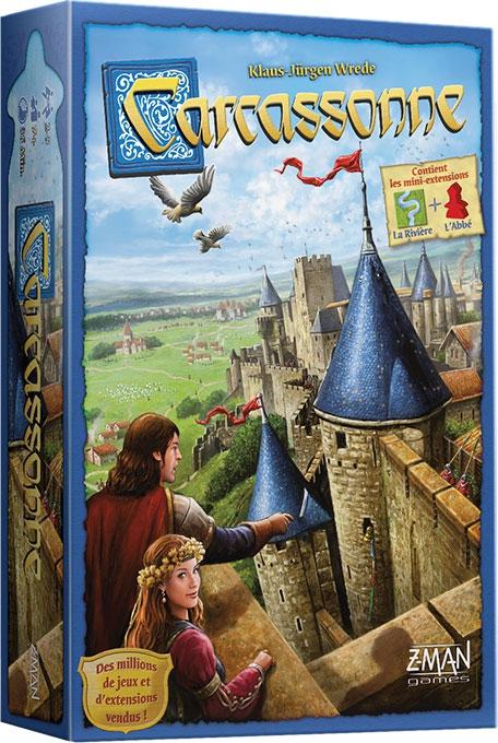 Boite du jeu Carcassonne